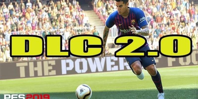 DLC 2.0 chega ao PES 2019