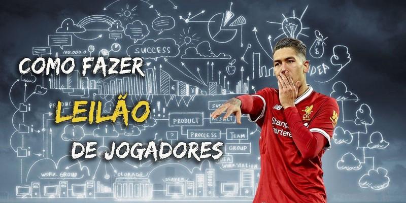 # PARA NOVATOS: Como fazer Leilão de jogadores no Painel Arena Virtual