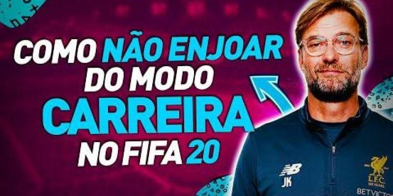 5 DICAS para NÃO ENJOAR do MODO CARREIRA do FIFA 20!