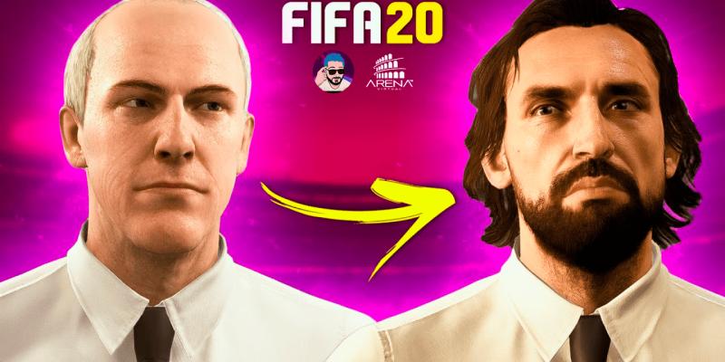 Como colocar QUALQUER FACE no seu TREINADOR do FIFA 20!