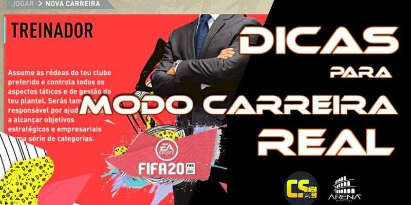 FIFA 20 - MODO CARREIRA REALISTA - DICAS DE COMO FAZER