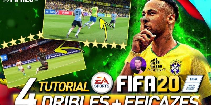 FIFA 20 TUTORIAL DRIBLES FÁCEIS e EFICAZES