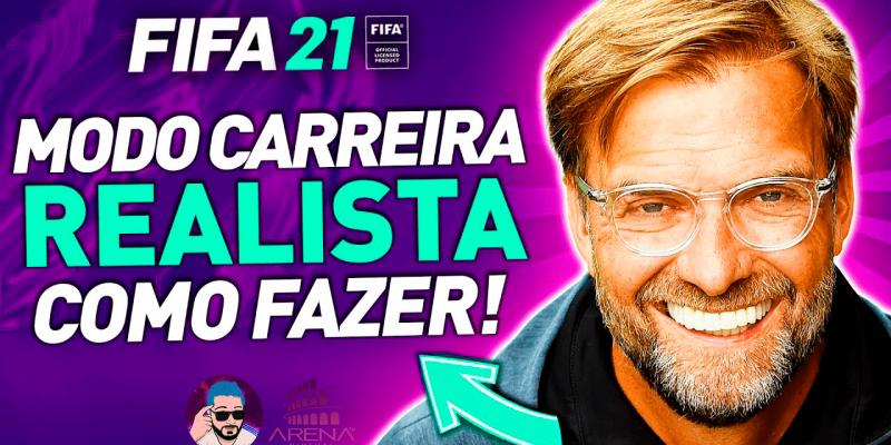 Como fazer um MODO CARREIRA REALISTA no FIFA 21!