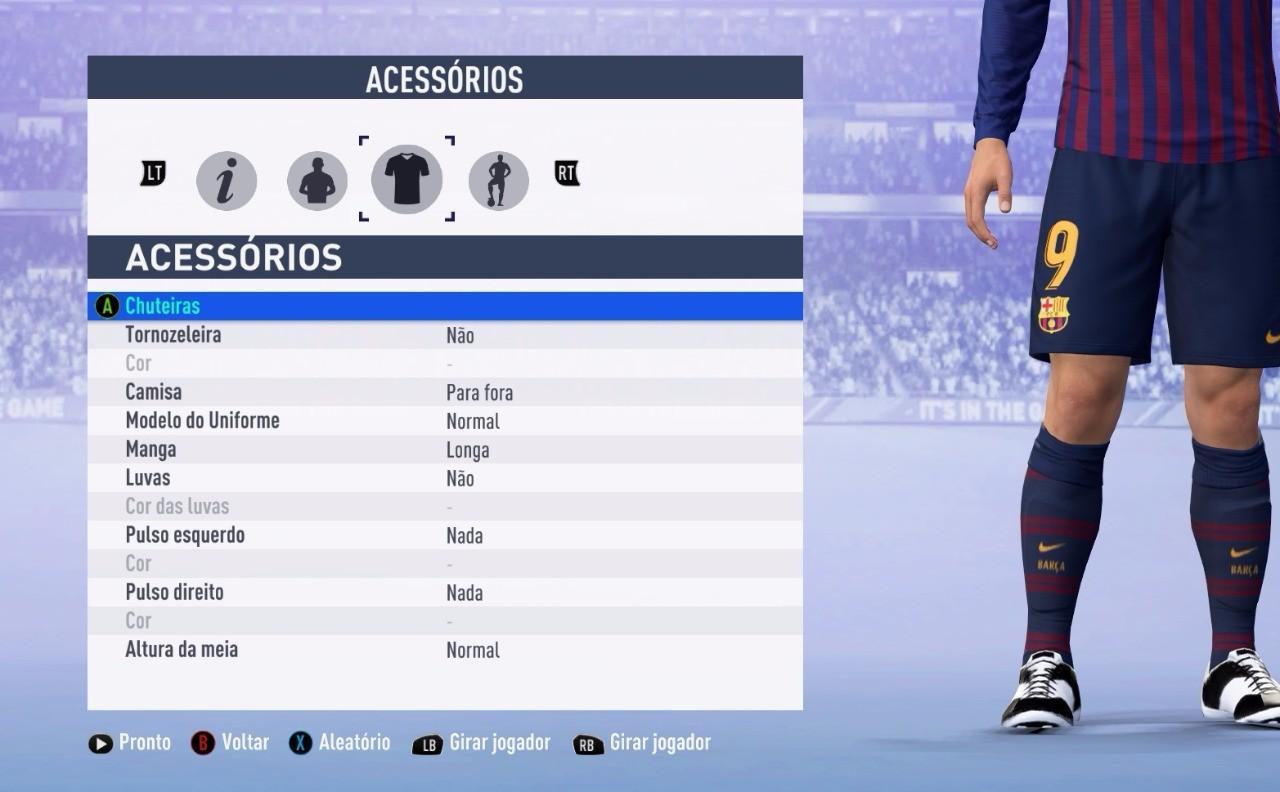 COMO CRIAR E EDITAR FACES NO FIFA 19