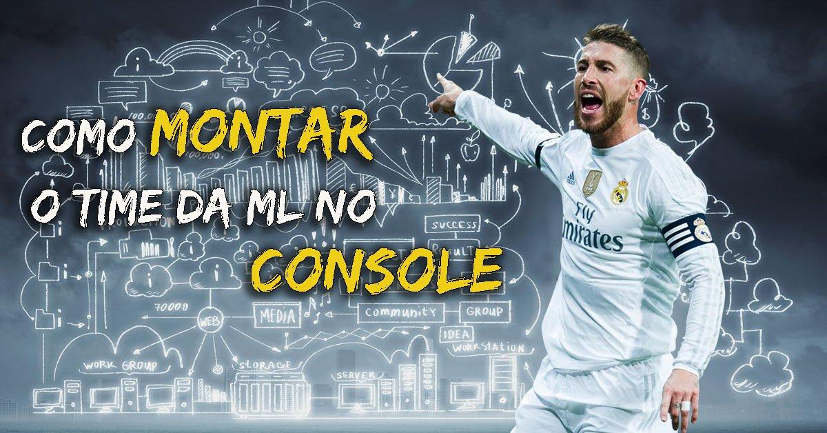 # PARA NOVATOS: Como Montar o time da ML no console?
