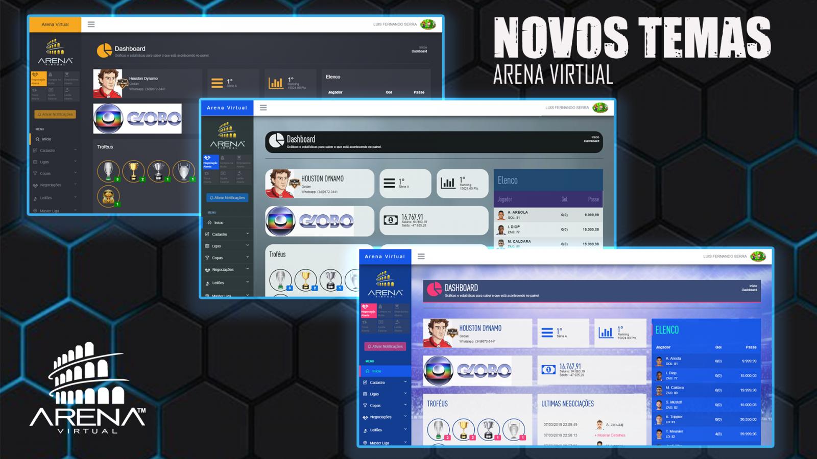 Porque escolher o Sistema Arena virtual para criar minha liga ⁉