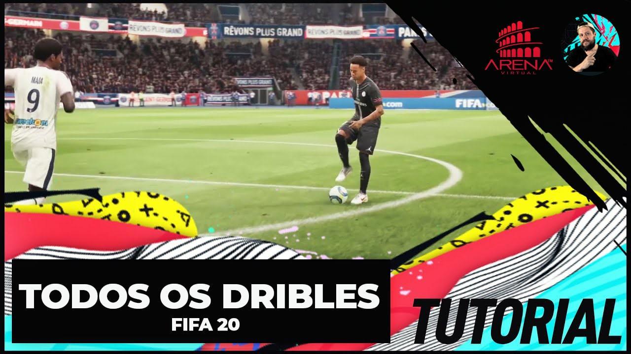 FIFA 20: TUTORIAL TODOS OS DRIBLES