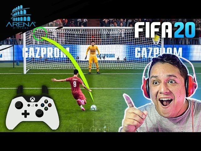 FIFA 20 - COMO BATER PÊNALTIS! SÓ NA MIRA!!