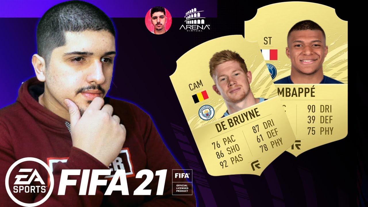 FIFA 21 - TOP 10 JOGADORES FIFA 21