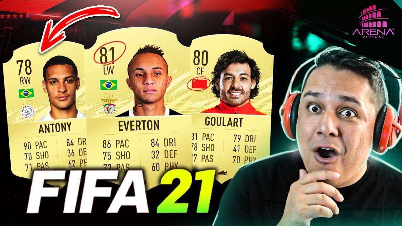 11 JOGADORES INCRÍVEIS para usar no FIFA 21!!