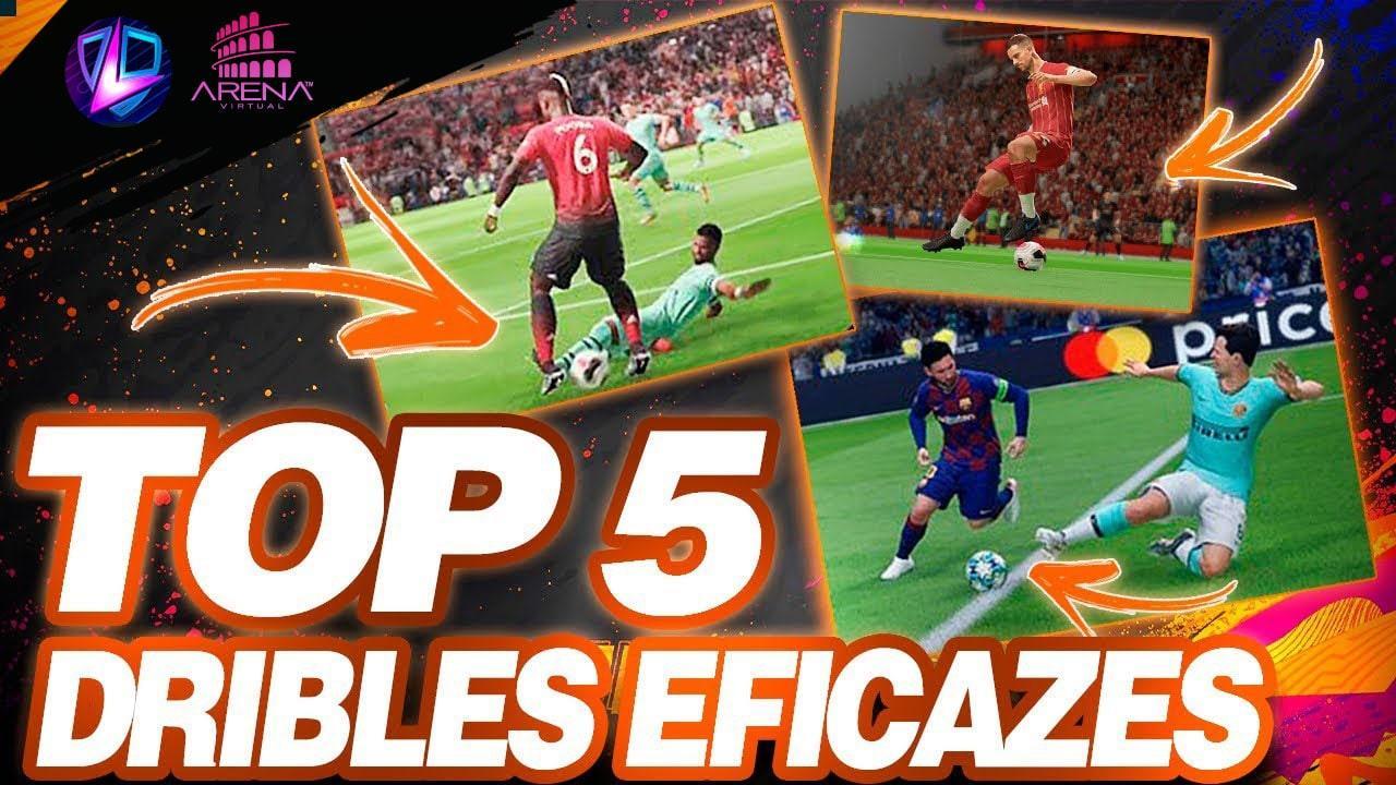 FIFA 20 | TOP 5 DRIBLES FÁCEIS E EFICAZES FIFA 20