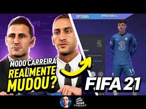 TODAS AS NOVIDADES DO MODO CARREIRA DO FIFA 21