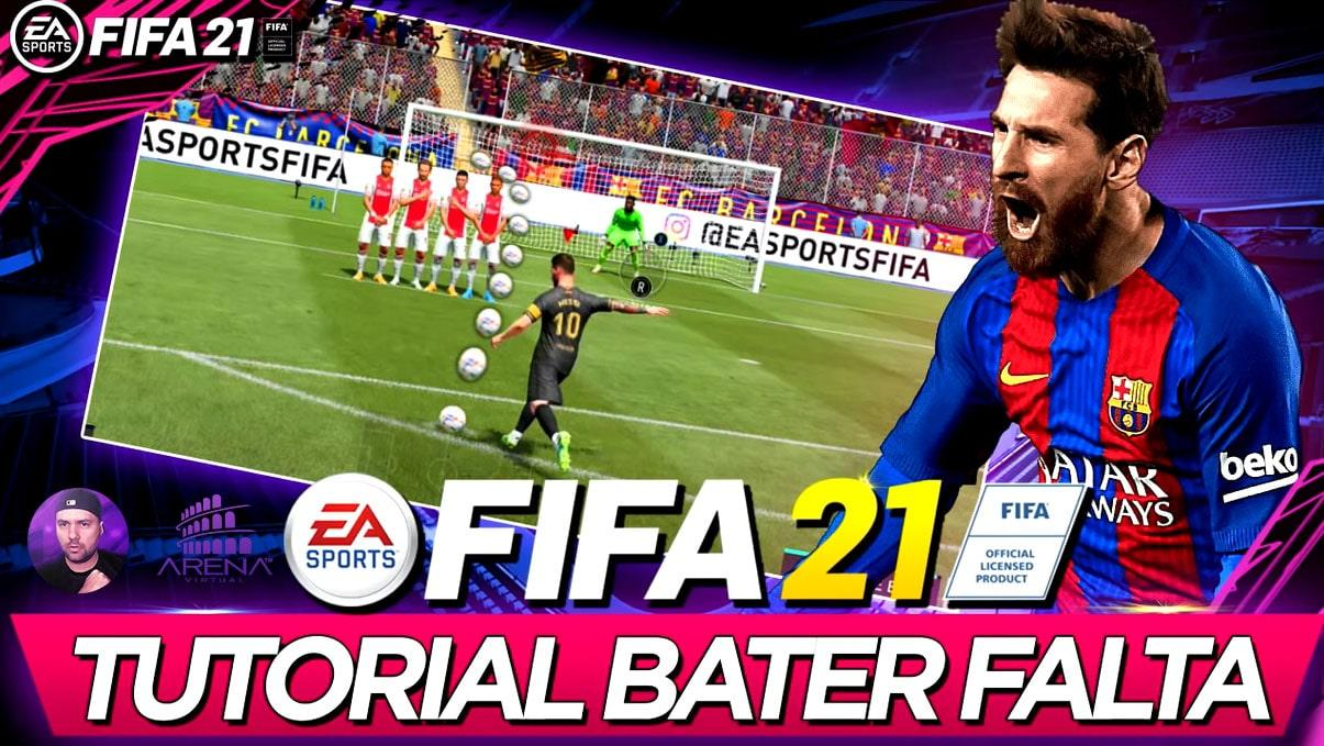 FIFA 21 TUTORIAL COMO BATER FALTA