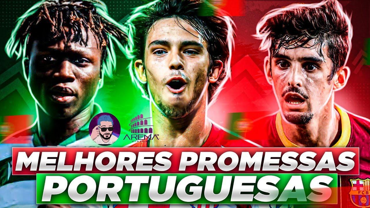 20 MELHORES PROMESSAS PORTUGUESAS do FIFA 21