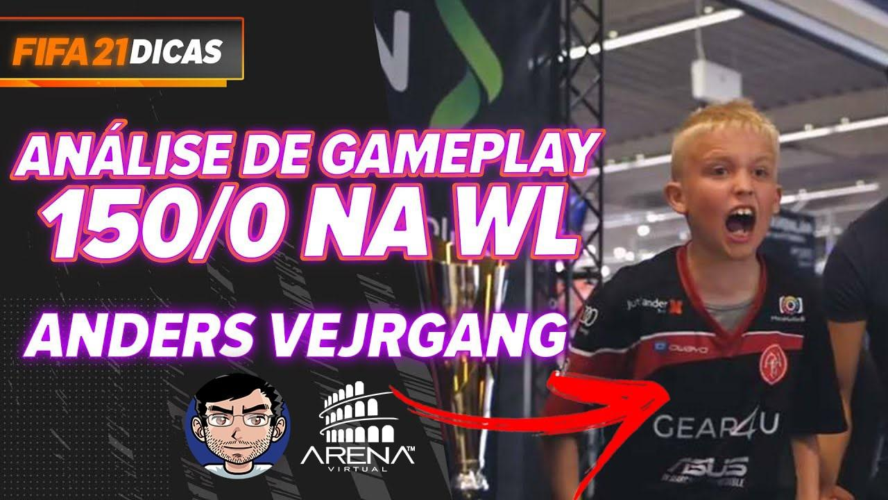 ANDERS VEJRGANG FEZ 150/0 NA WEEKEND LEAGUE!