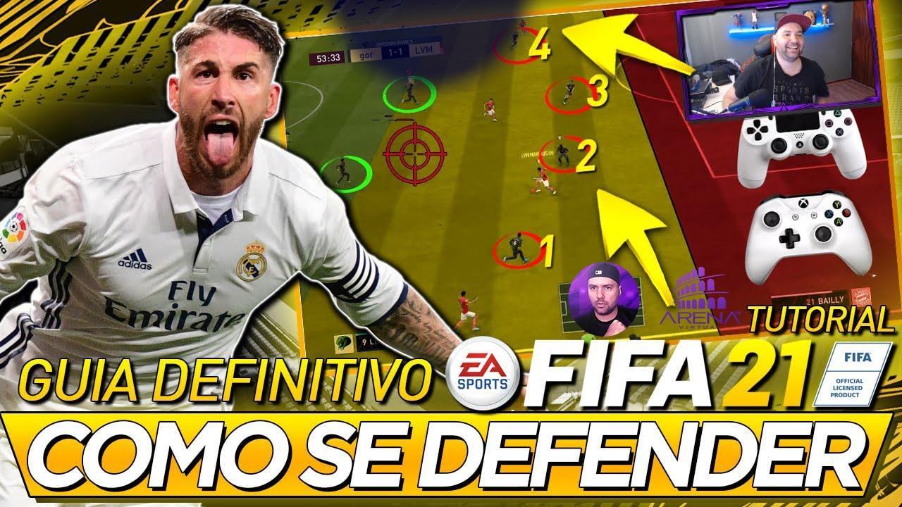 FIFA 21 TUTORIAL: 3 DICAS COMO SE DEFENDER